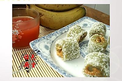 绿茶糯米卷