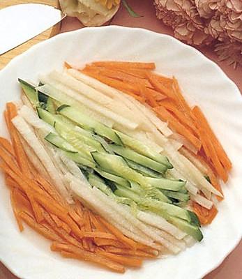 杂锦甜酸菜的做法