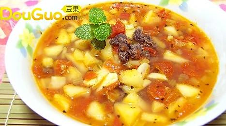 蕃茄苹果牛骨汤的做法