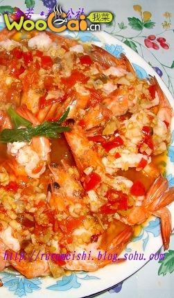 美丽厨娘-剁椒虾的做法