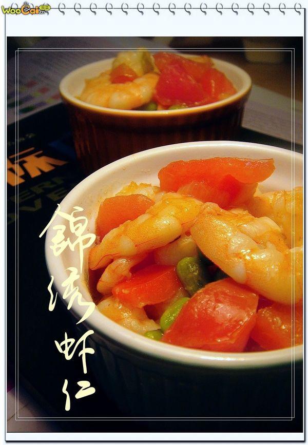 美丽厨娘-锦绣虾仁的做法