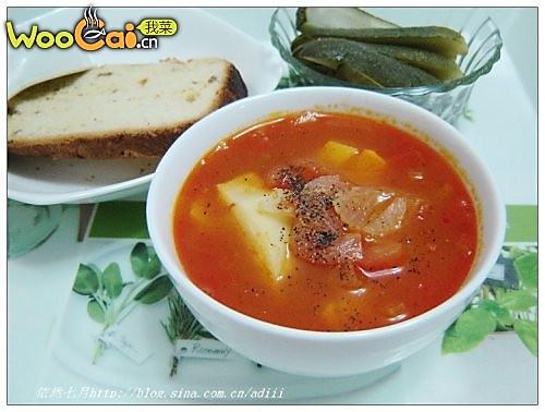 我的红菜汤——美丽厨娘的做法