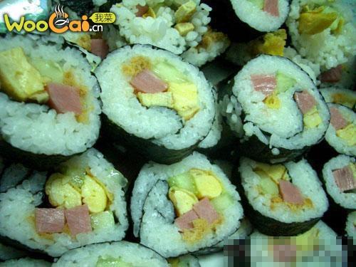 水果寿司的步骤说明