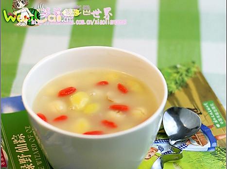 健康营养 糯香莲子白果羹的做法