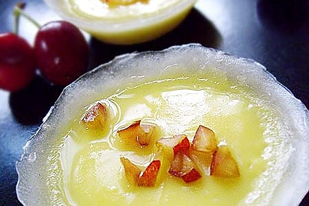 美味蛋挞蒸出来------水晶樱桃蛋挞的做法