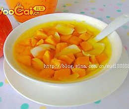 肺汤水 抵御秋燥:南瓜百合汤的做法