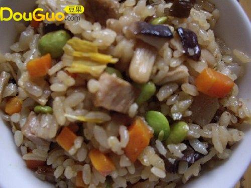 什锦焖饭的做法