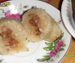 猪肉蚕豆粽子的做法