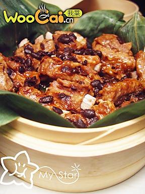 竹香豉汁排骨的做法