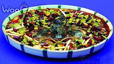 豆瓣鱼头(糊辣豆瓣味)的做法