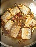 回锅麻辣带鱼的做法图解9