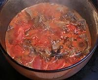 西红柿炖牛腩的做法图解12