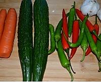 爆腌黄瓜的做法图解1
