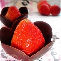 巧克力水果盏的做法图解5