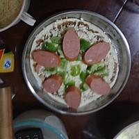 金枪鱼火腿披萨的做法图解10