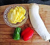 菠萝咕噜素肉的做法图解1