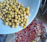 玫瑰花豆浆的做法图解5