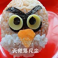 愤怒的小鸟便当——宝宝食谱的做法图解6