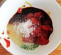 菠萝咕噜素肉的做法图解7
