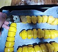 南瓜毛毛虫面包的做法图解15