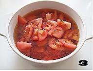 番茄牛肉羹的做法图解3