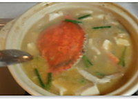 螃蟹豆腐煲的做法图解6