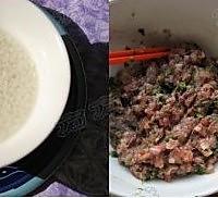 鲜虾珍珠肉丸的做法图解4