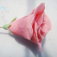 白色 情人节——巧克力玫瑰花束(附包装法)的做法图解13