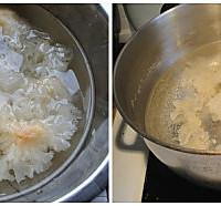 紫薯银耳汤的做法图解1