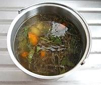 蔬菜羊肚汤的做法图解5