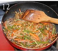 鱼香金针菇的做法图解12