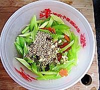 芝麻拌芹菜的做法图解9