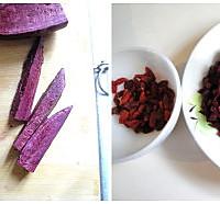 紫薯银耳汤的做法图解2