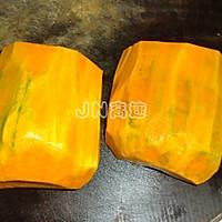 甜糯酿南瓜的做法图解1