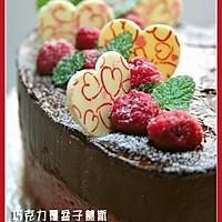 巧克力覆盆子慕斯蛋糕的做法图解5