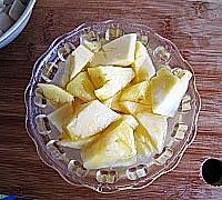 菠萝咕噜素肉的做法图解6