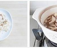 菌菇汤元宝水饺的做法图解2