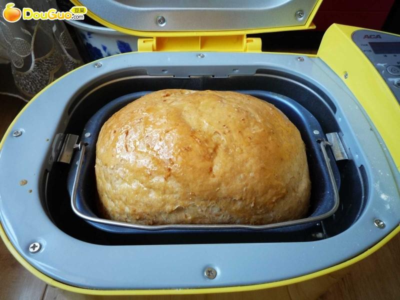 面包机版快速制作全麦面包的做法图解4