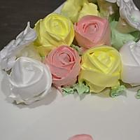 奶油玫瑰花的做法图解1