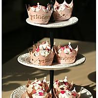 玫瑰花酱杯子蛋糕的做法图解5