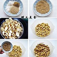 五香芝麻油酥蚕豆的做法图解5