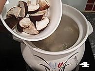 牛棒骨菌菇汤的做法图解4