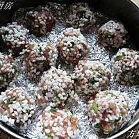 鲜虾珍珠肉丸的做法图解6