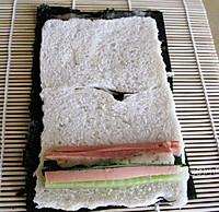 土司寿司卷的做法图解5