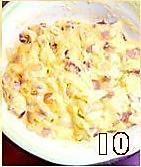 培根洋葱咸马芬的做法图解10