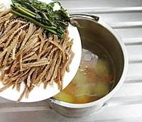 蔬菜羊肚汤的做法图解4