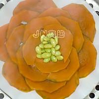 甜糯酿南瓜的做法图解3