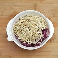 紫甘蓝拌豆腐丝的做法图解4