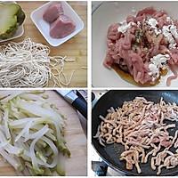 榨菜肉丝面的做法图解1