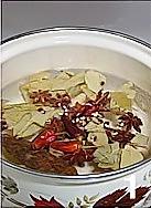 香菜拌牛肉的做法图解1